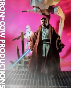 OBI-WAN KENOBI Star Wars Black Series Custom Action Figure by Matt 'Iron-Cow' Cauley