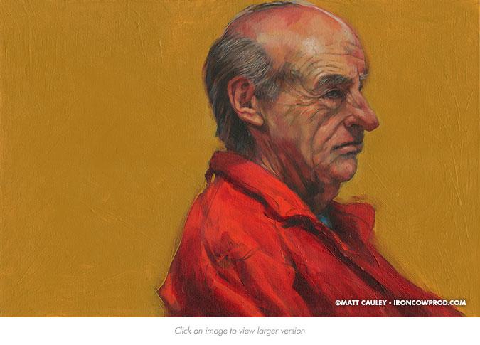 November 15 (John) Acrylic on Canvas | 20 x 30 inches Painted 2014 by Matt Cauley