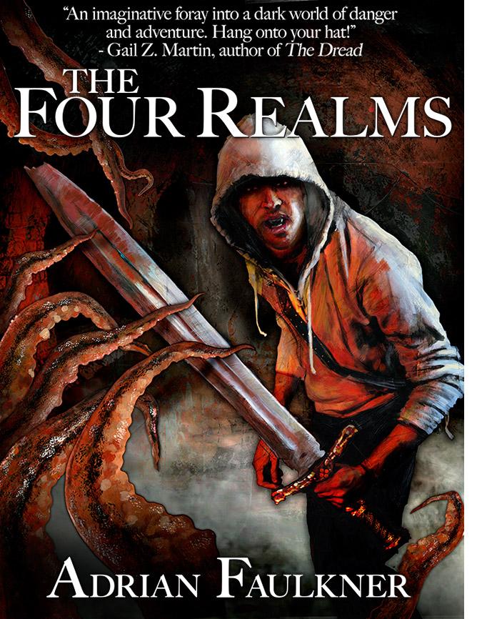 The Four Realms - Artwork by Matt Cauley