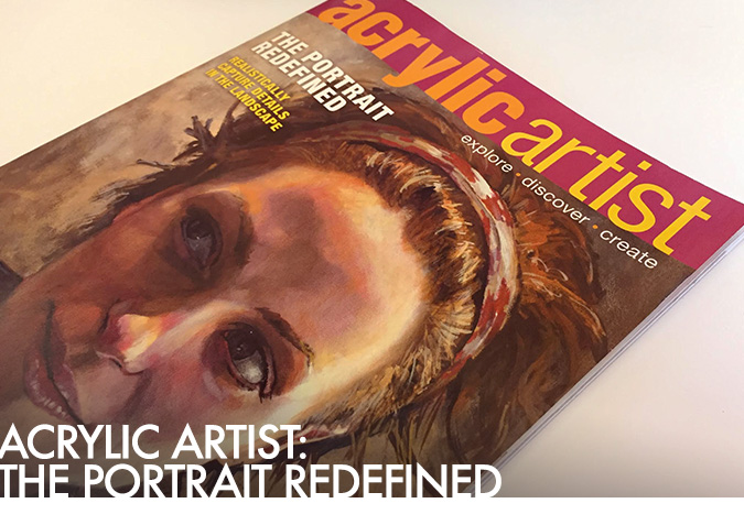 Acrylic Artist Magazine featuring Matt Cauley Artwork